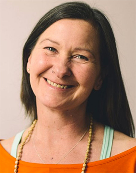 Anji Craven yoga teacher image