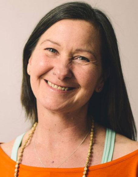 Anji Craven yoga teacher image