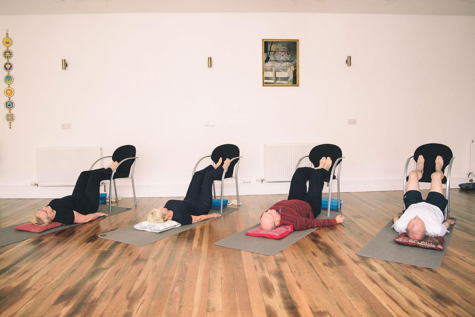 Young at heart yoga