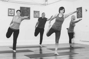 Hatha Yoga class Leeds Angela